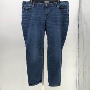 Old Navy straight leg jeans womens plus sz 18
